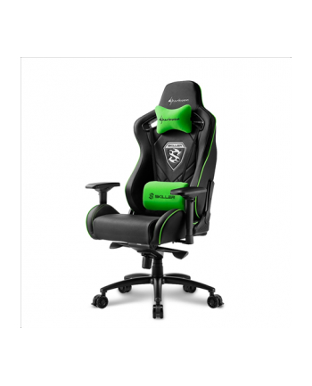 Sharkoon Skiller SGS4 Gaming Seat - black/green
