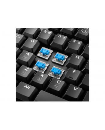 Sharkoon PureWriter TKL RGB - Low Profile - Mechanical - Kailh Blue - US-Layout