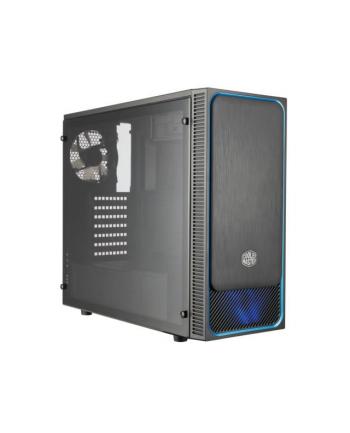 Cooler Master MasterBox E500L - black/blue
