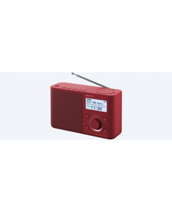 Sony XDR-S61DR red DAB+