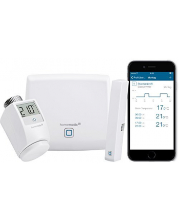 Homematic IP starter set room climate, complete package