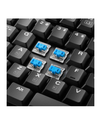Sharkoon PureWriter RGB - Low Profile - Mechanical - Kailh Blue - US Layout