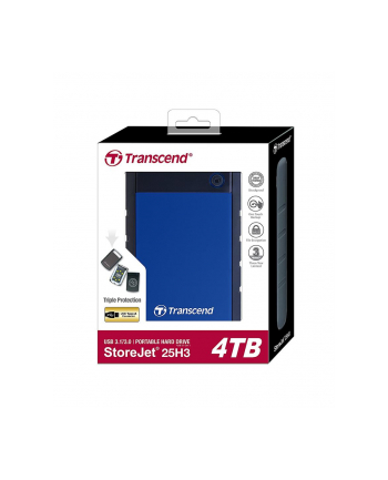 Transcend StoreJet 25H3 4 TB - 2.5 - USB 3.1
