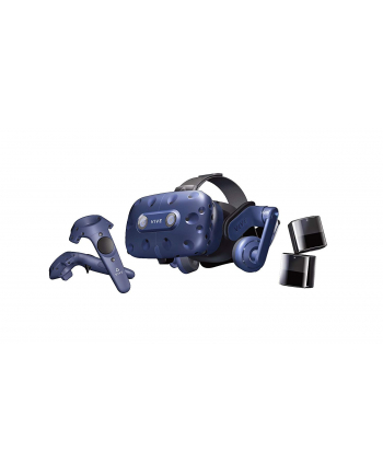 HTC Vive Pro (Complete Edition) + Controller + Base Station 2.0 - black/blue