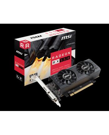 MSI Radeon RX 550 4GT GDDR5 1203 MHz/6000 MHz HDMI/DL-DVI-D