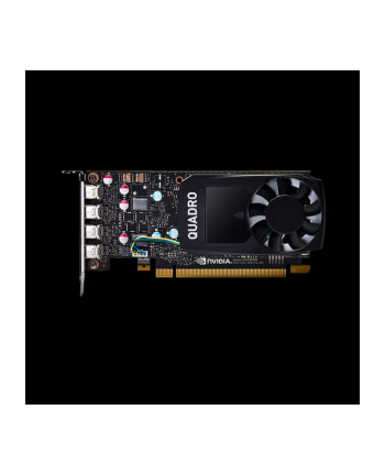 pny technologies europe PNY NVIDIA Quadro P620, 2GB GDDR5 (128 Bit), 4x miniDP (4x miniDP to DP), LP