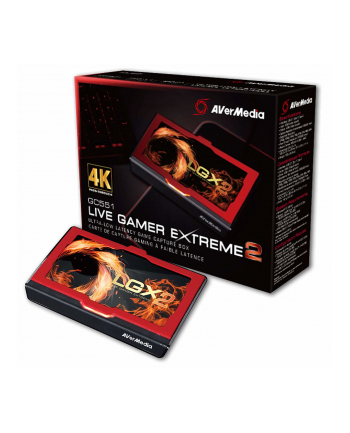 aver media AVerMedia Rejestrator obrazu Live Gamer EXTREME 2, USB 3.1 Type-C, 4Kp60