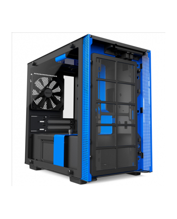 NZXT H200 Black/Blue Window - Mini-ITX