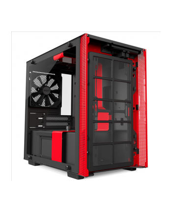 NZXT H200 Black/Red Window - Mini-ITX