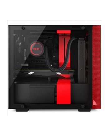 NZXT H200 Black/Red Window - Mini-ITX