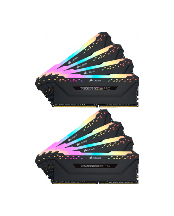 Corsair DDR4 64 GB 2666-CL16 - Octo-Kit - Vengeance RGB PRO Black