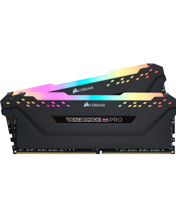 Corsair DDR4 16 GB 3200-CL16 - Dual-Kit - Vengeance RGB PRO Black