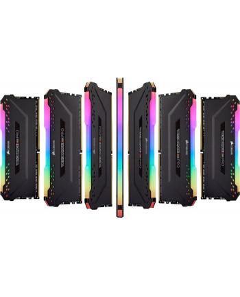 Corsair DDR4 16 GB 3800-CL16 - Dual-Kit - Vengeance RGB PRO Black