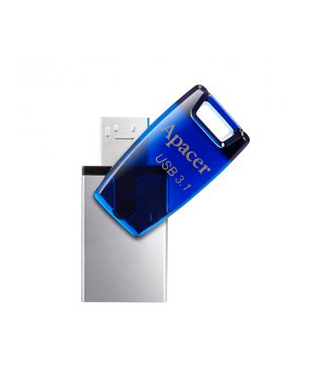Apacer Pamięć USB AH179 16GB USB 3.1 OTG Niebieska