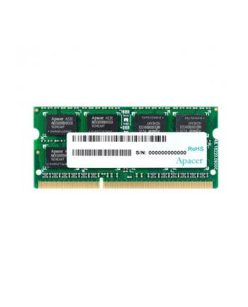 Apacer Pamięć DDR3 4GB 1600MHz CL11 SODIMM 1.5V