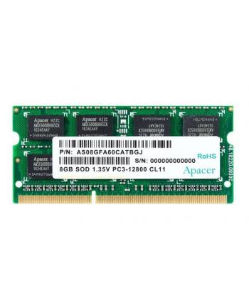 Apacer Pamięć DDR3 8GB 1600MHz CL11 SODIMM 1.35V