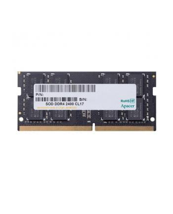 Apacer Pamięć DDR4 4GB 2400MHz CL17 SODIMM 1.2V