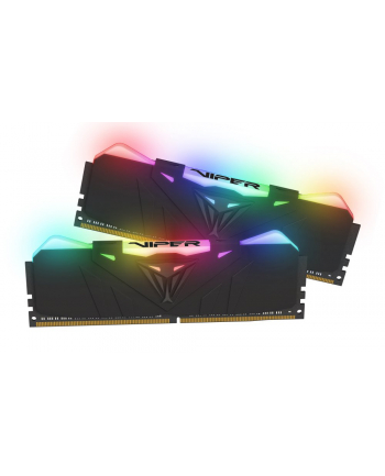 Patriot Viper RGB DDR4 16GB DUAL KIT (2x8GB) 3000Mhz CL15, CZARNY