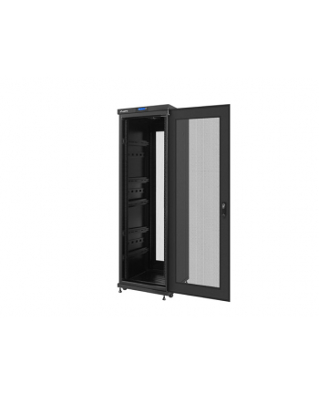 Lanberg szafa stojąca rack 19'' 37U/600x6000mm czarna, perforowane LCD flat pack