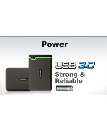 Dysk twardy USB 2,5'' Transcend StoreJet25 M3 USB 3.0 500GB TS500GSJ25M3