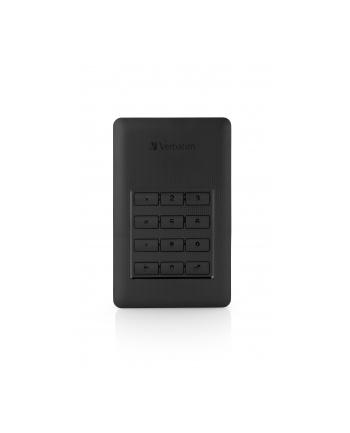 Verbatim dysk zewnętrzny Store 'n' Go 2.5'', 2TB, USB 3.1, Czarny, szyfrowany