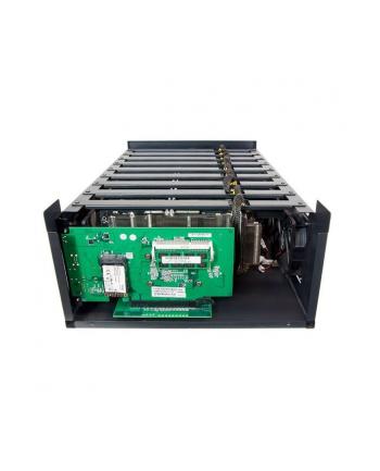 Sapphire MGI-9 COMPUTE BAREBONE W/ APU CARD & PCI-E EXTENDER BOARD, OS INSTALLED