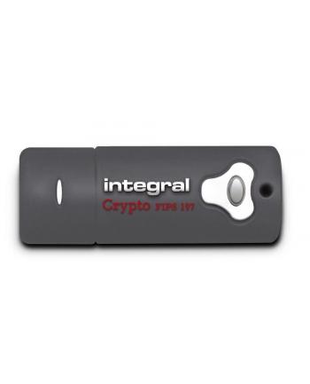 Integral pamięć USB CRYPTO 16GB Szyfrowanie Sprzetowe AES 256BIT,FIPS197,USB 3.0