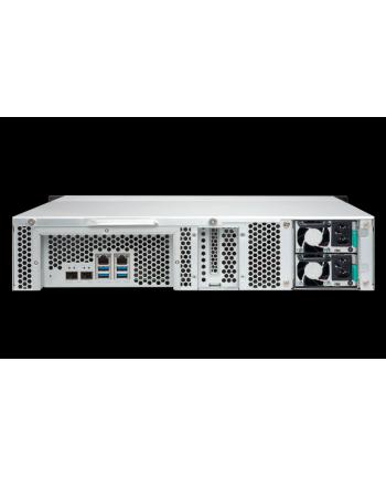 QNAP 8-Bay TurboNAS, SATA 6G, Quad Core 1,7GHz, 4GB, 2xGbE, 2x10Gb SFP w/o rails