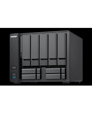 QNAP 9-Bay TurboNAS, Intel Celeron 2C 1.8GHz, 2GB RAM, 1xGbE LAN, 1x10GbE, HDMI