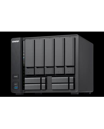 QNAP 9-Bay TurboNAS, Intel Celeron 2C 1.8GHz, 8GB RAM, 1xGbE LAN, 1x10GbE, HDMI