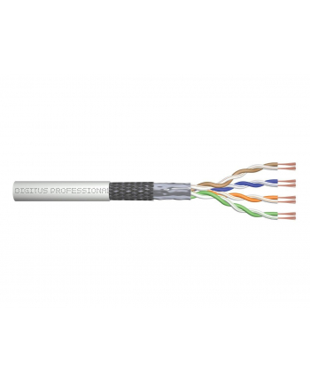 Kabel SF/UTP kat.5E linka Digitus Network AWG26/7  r. 305m
