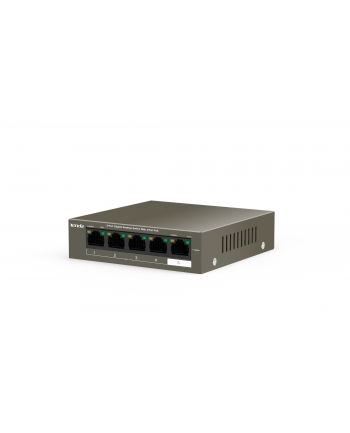 Tenda TEG1105P-4-63W 5 X 10/100/1000Mbps Switch, 4 X PoE, max 58W