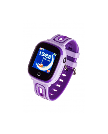 Smartwatch, Zegarek Garett Kids Happy Fioletowy