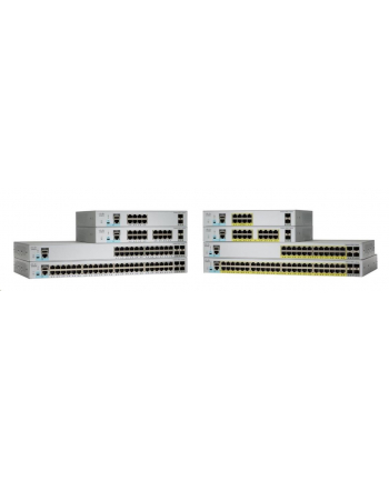 cisco systems Cisco Catalyst 2960L 24 port GigE, 4 x 10G SFP+, LAN Lite