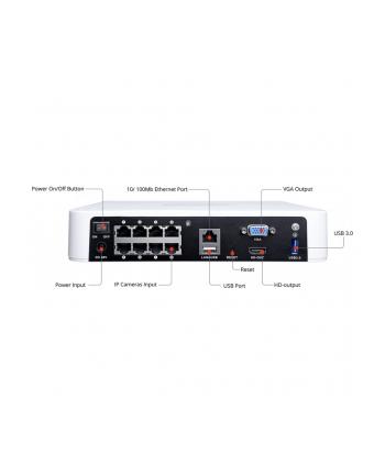 Foscam 8 kanałowy rejestrator IP FN7108HE H.264