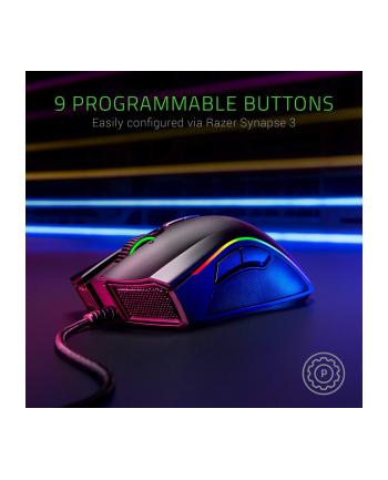 Mysz Gamingowa RAZER Mamba Elite; 16k DPI, sensor 5G, USB