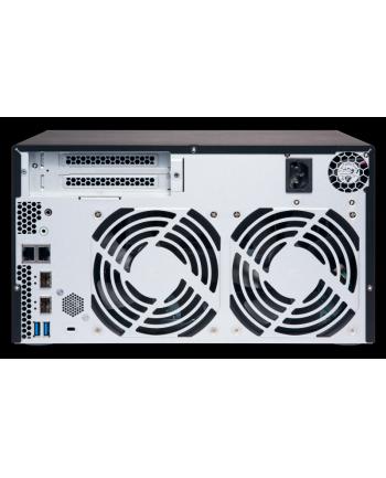 QNAP 8-Bay TurboNAS, SATA 6G, 4-Core 1,7GHz, 2G RAM, 2x1Gb, 2x10Gb, USB 3.0