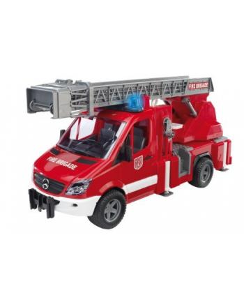 MB Arocs straż pożarna z sygnałami 03675 BRUDER