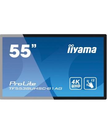 Monitor IIyama TF5538UHSC-B1AG 55inch, IPS touchscreen, 3840x2160, HDMI, DP, DVI