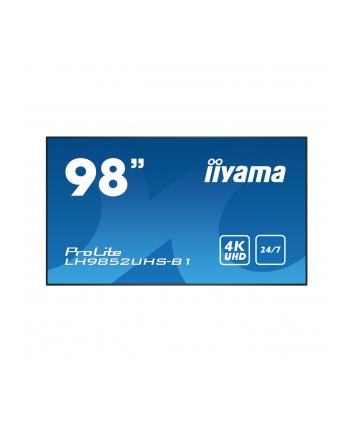 iiyama Monitor 98 LH9852UHS-B1 24/7,4K,OPS,IPS,LAN,