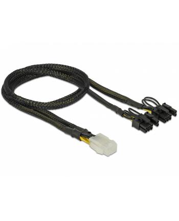 Delock PCI Express kabel zasilający 6-pinowe żeński > 2 x 8-pinowe męski 30 cm