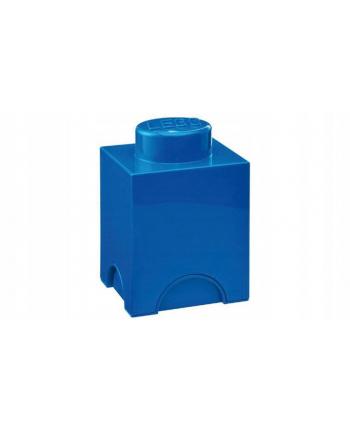 Pojemnik klocek LEGO® z 1 wypustka (Bright Blue)