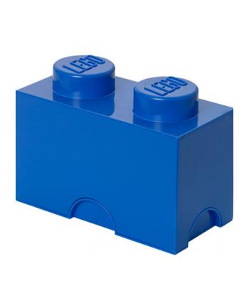 Pojemnik klocek LEGO® z 2 wypustkami (Bright Blue)
