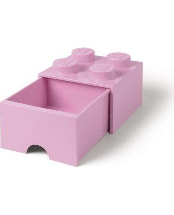 Szuflada klocek LEGO® z 4 wypustkami (Light Purple)