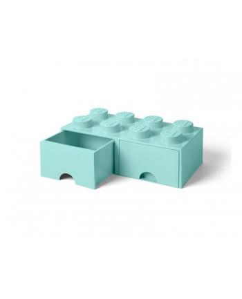 Podwojna szuflada klocek LEGO® z 8 wypustkami