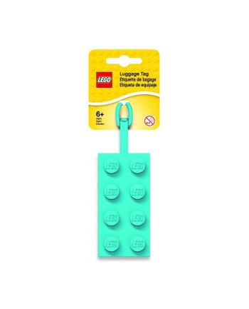 Zawieszka do bagazu Lazurowy klocek LEGO