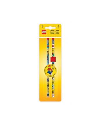 Zestaw olowkow (2 szt.) z klockiem mocujacym LEGO® Iconic
