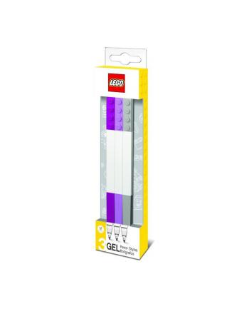 Dlugopis zelowy LEGO® (3 szt.) miks