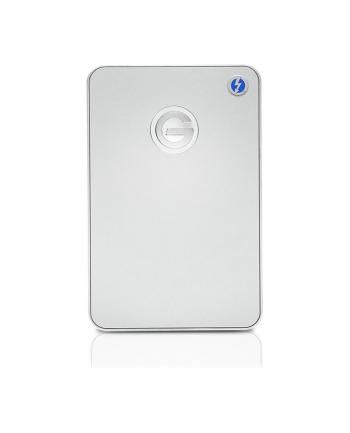 g-technology Dysk zewnętrzny G-DRIVE mobile Thunderbolt, 2.5'', 1TB, USB 3.0, srebrny