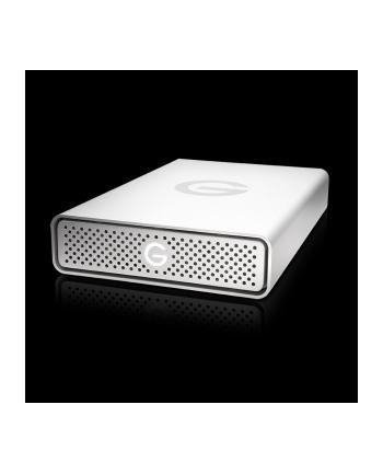 g-technology Dysk zewnętrzny G-DRIVE USB, 3.5'', 10TB, USB 3.0, srebrny
